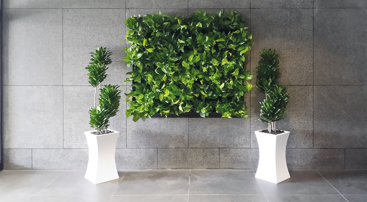 Projectinrichting: Living Wall