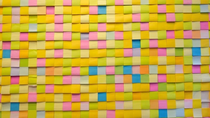 Kantoorartikelen: Post-it art