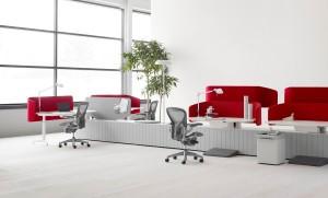 Kantoormeubelen Ridderkerk Herman Miller bureaustoelen