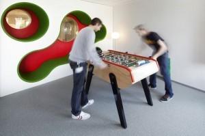 Projectinrichting kantoor Lego