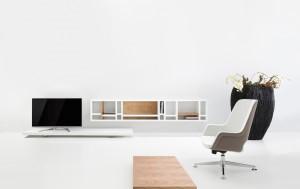 Kantoorinrichting Rotterdam meubelmerk Twinform lounge