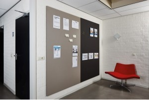 Projectinrichting prikwand zonder profiel Smit Visuals