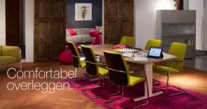 Kantoormeubelen Papendrecht Nice Prive Office vergadertafel