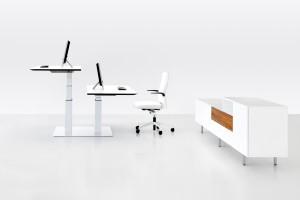 Kantoorinrichting Rotterdam meubelmerk Twinform werkplekken duo
