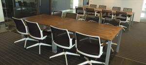 Projectinriching Rotterdam Drentea werkplekken vergadertafel