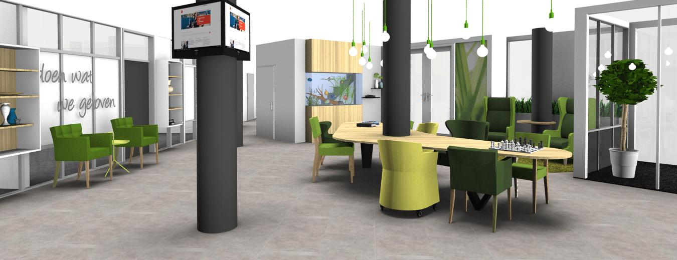 Projectinrichting: Nieuwe entree voor Zorgcentrum De Linde