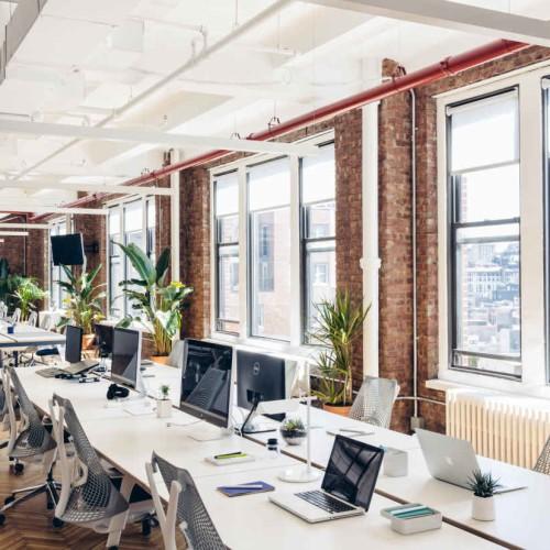 Harry's inspirerend kantoor New York Herman Miller Living kantoorinrichting projectinrichting