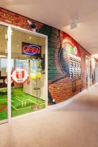 Projectinrichting Rotterdam hoofdkantoor Google Amsterdam