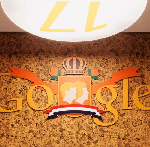 Projectinrichting Roterdam Google hoofdkantoor Amsterdam