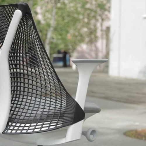 Herman Miller Sayl bureaustoel ergonomie