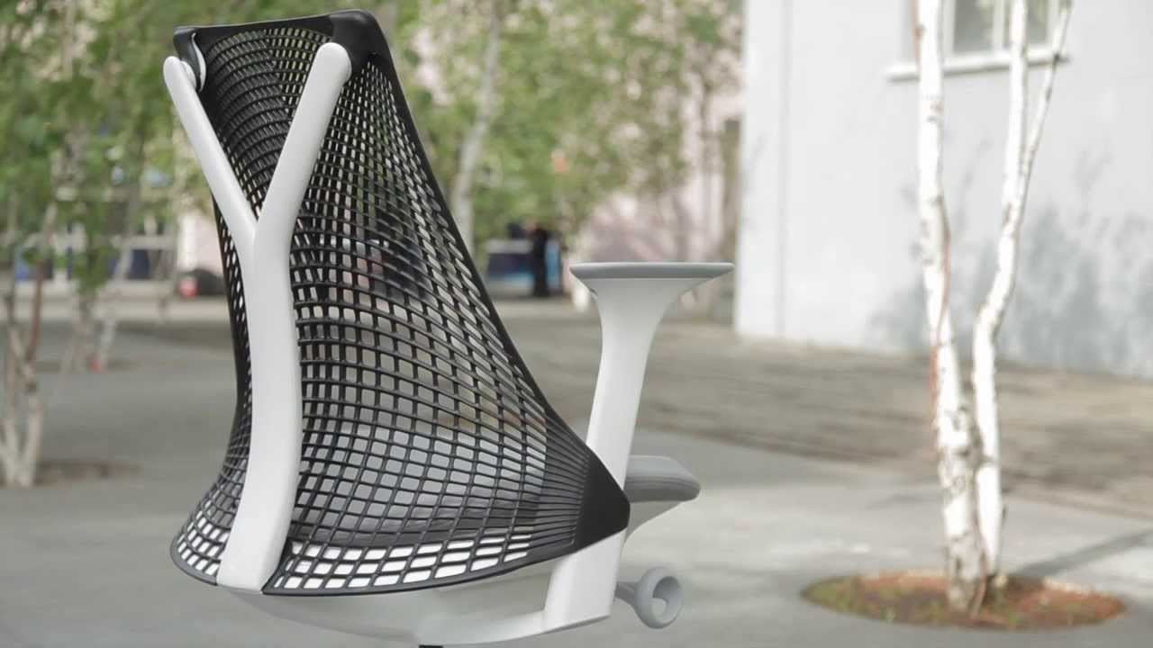 Projectinrichting: Herman Miller Sayl bureaustoel
