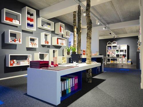 kantoorartikelen showroom inspiratie