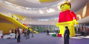 Lego hoofdkantoor Denemarken ingang