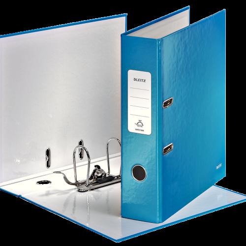 leitz ordner kantoorartikelen blauw kantoorbenodigdheden office supplies