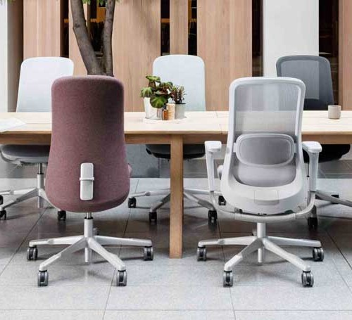 Hag Sofi Mesh bureaustoel ergonomisch