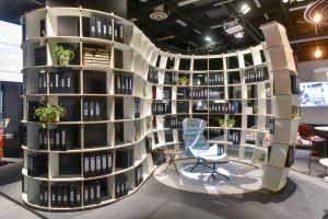 Inspiratie Orgatec beurs Keulen 2016, loungewerkplek