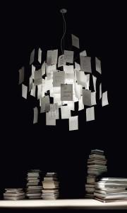 Zettel'z Ingo Maurer design lamp