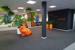 HUSS lounge hoek Alblasserdam kantoorinrichting