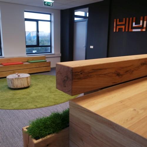 HUSS nieuw kantoor inrichting Alblasserdam kantoor