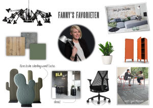 Favorieten Fanny inside office projectinrichting