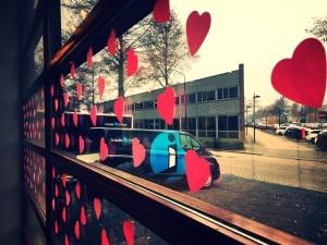 Valentijn Inside Office post-it hart