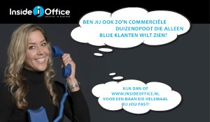 vacature inside office commercieel