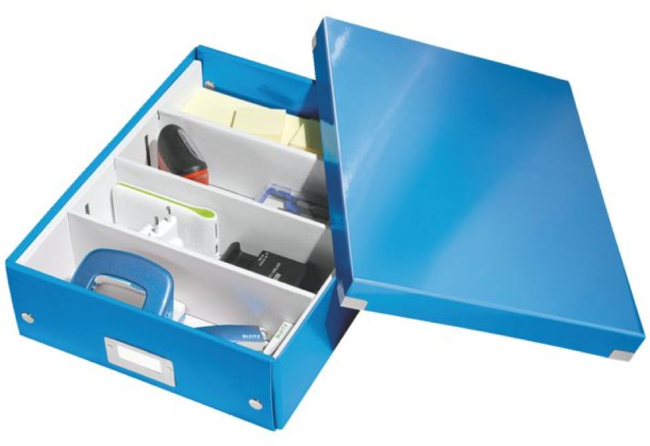 blauwe doos