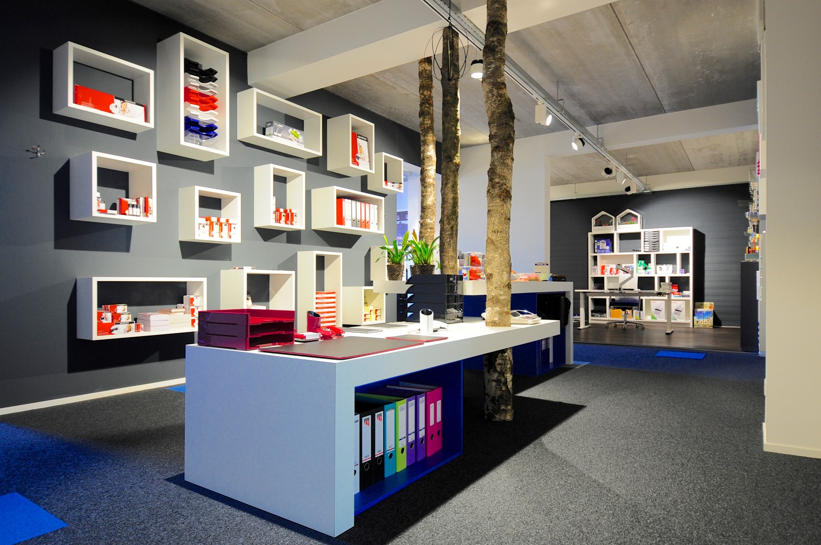 Inside Office Showroom