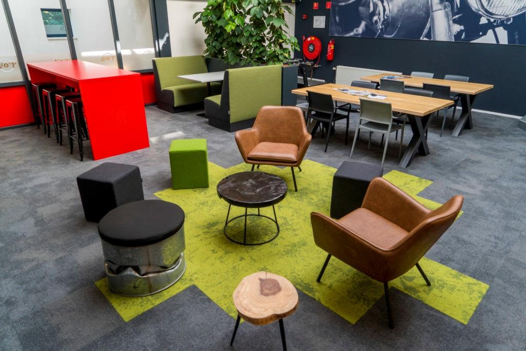 Over hoe je de mentaliteit van een bedrijf vertaalt in het interieur inside office - Whirlpool van het interieur ...