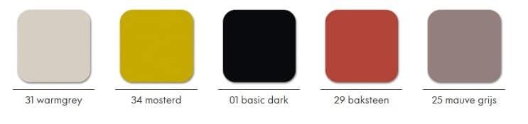 Kleuren Vitra toolbox