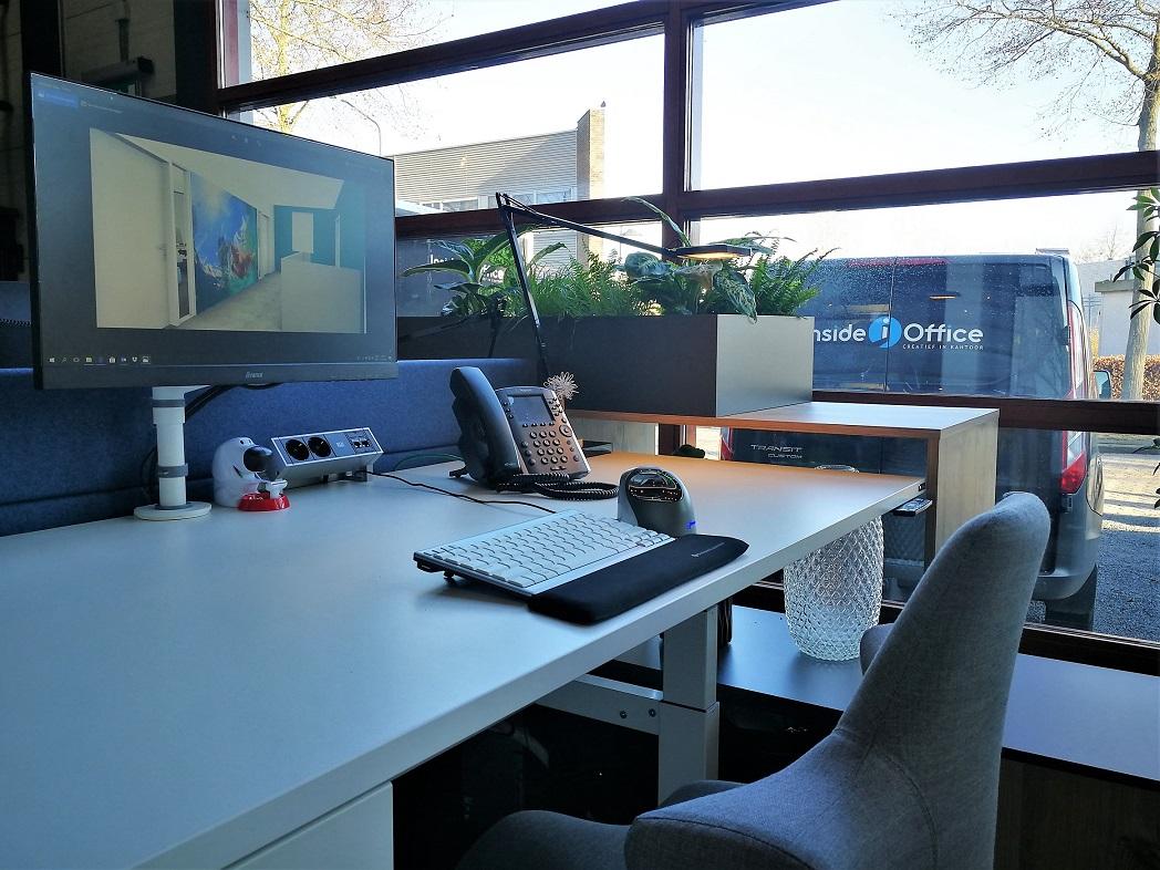 kabelmanagement inside office