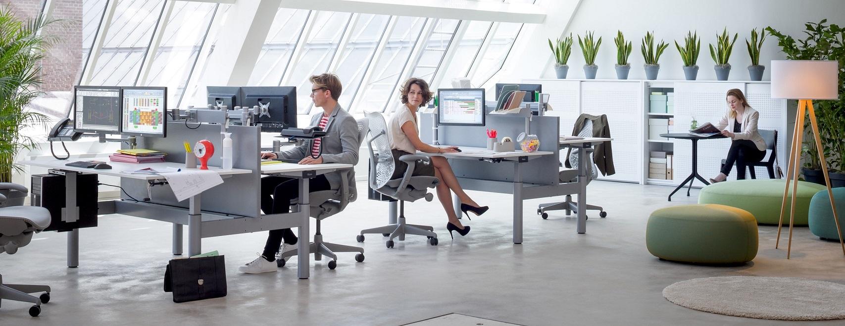 Tips voor een goede werkhouding op kantoor