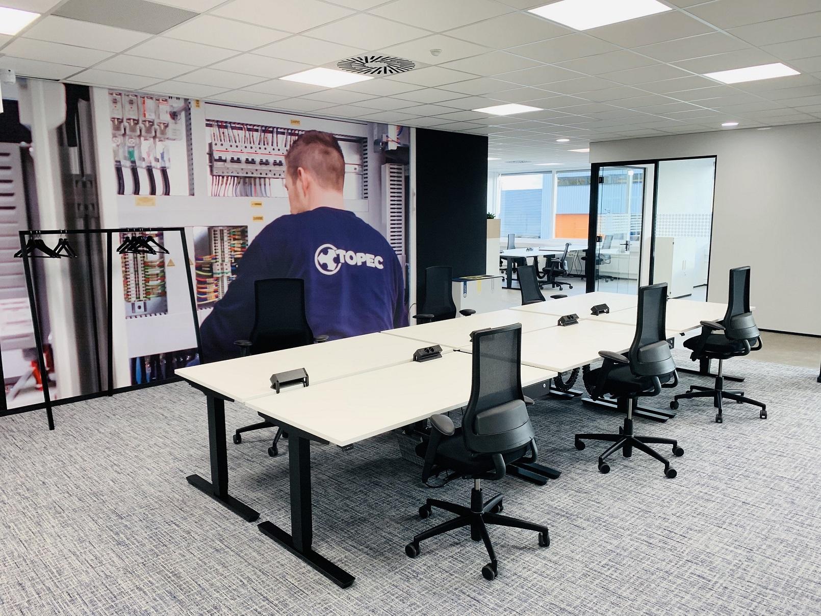 kantoor techniek interieur design kantoor