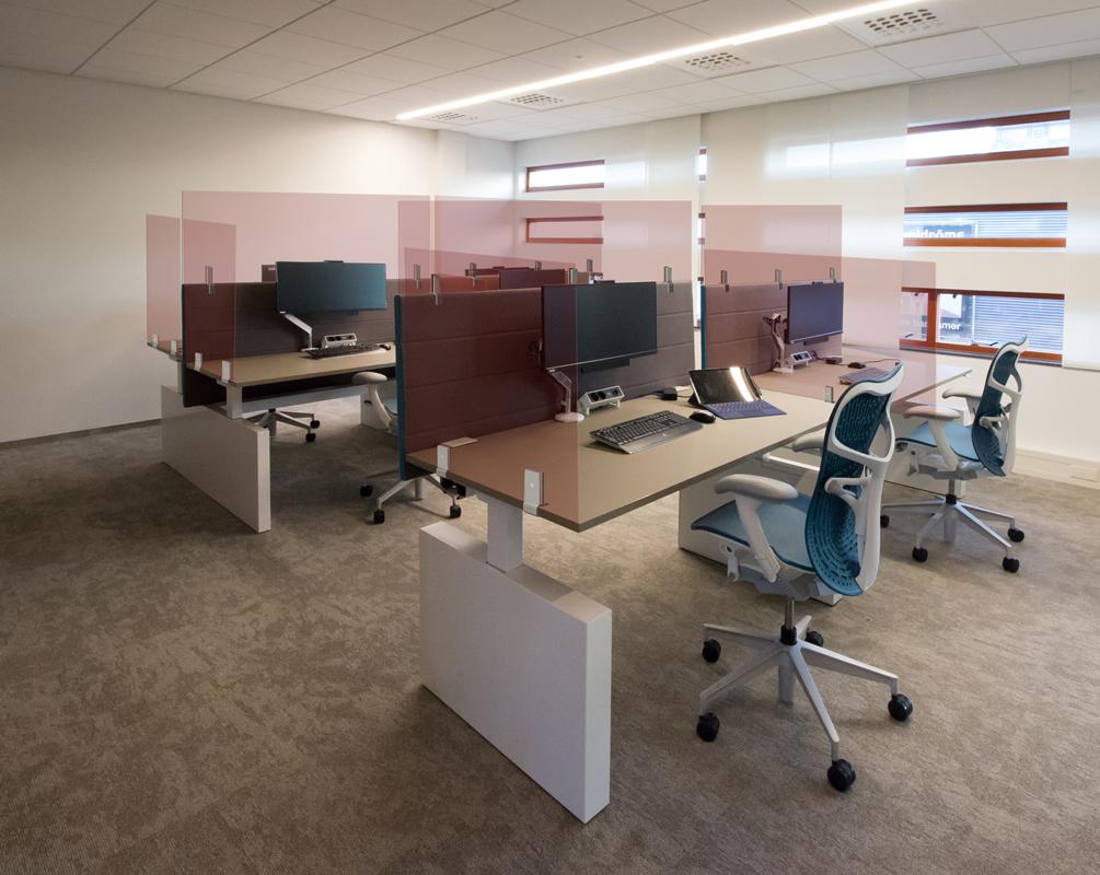 1,5 meter kantoor