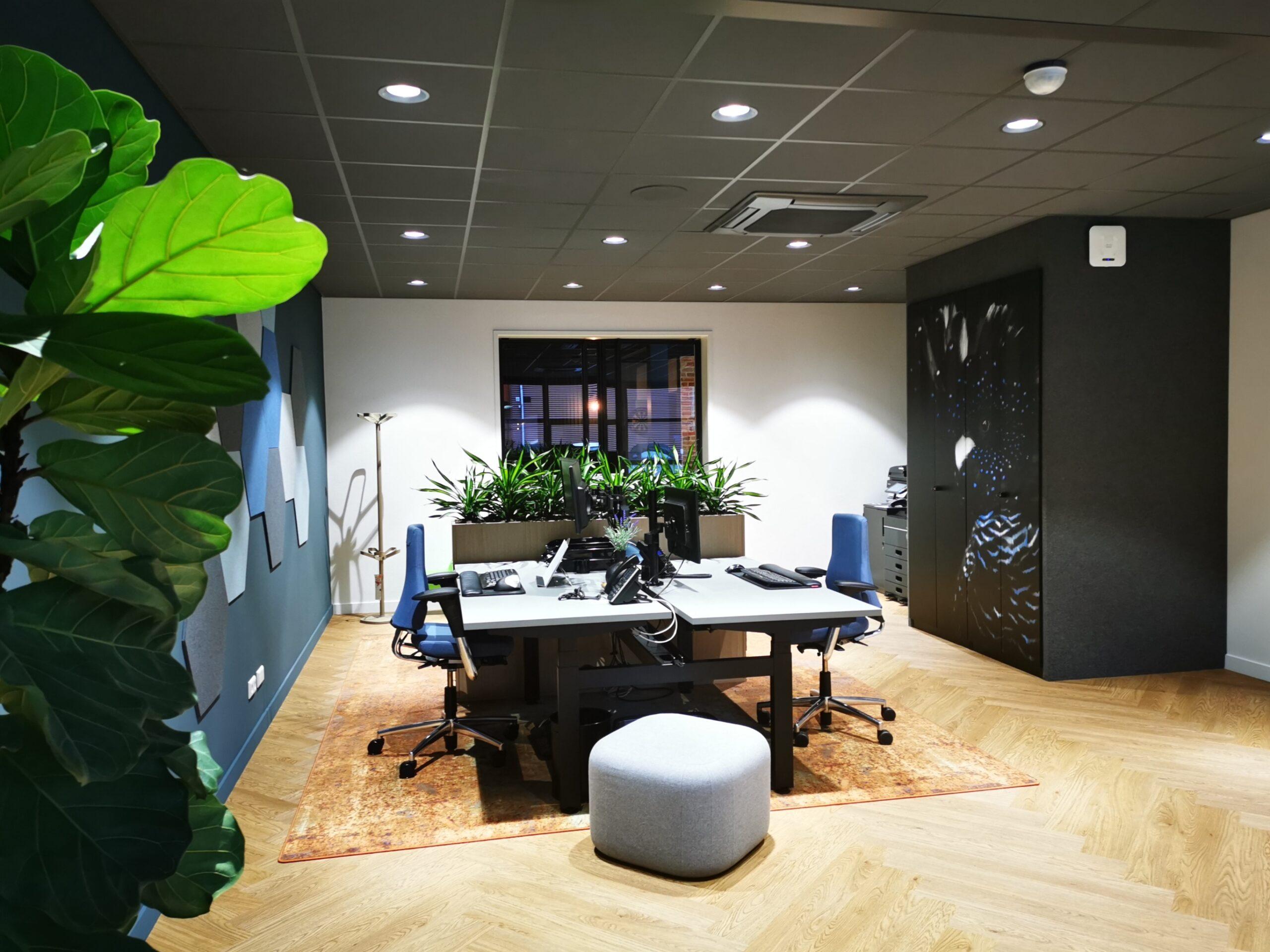 inside office kantoor clubhuis