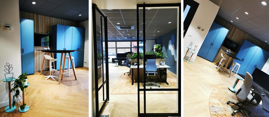 inside office kantoor ontwerp interieur